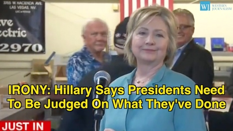 According To Hillary, Presidents Need To Be Judged On What They've Done   anonymous activist   Scoop.it