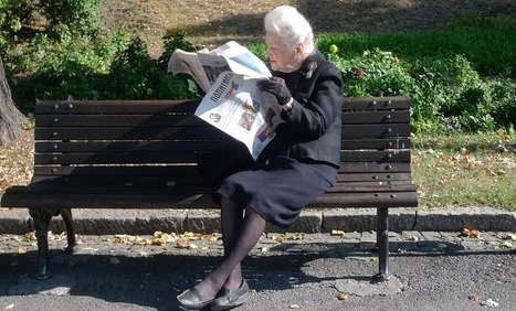Televisiekijkers en krantenlezers sterven uit: een actueel overzicht | Mediawijsheid in het VO | Scoop.it