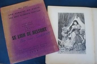 Art érotique à la bibliothèque : les collages osés et engagés de Max Ernst | Belfort-Montbéliard, et plus si affinité ! | Scoop.it