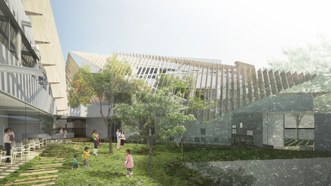 Kengo Kuma designs Tokyo hospital wrapped around a garden | sustainable architecture | Scoop.it