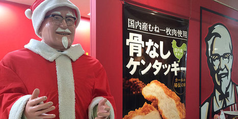 Perché i giapponesi a Natale mangiano da Kentucky Fried Chicken - Il Post | Off Topic | Scoop.it