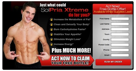 Solpria Xtreme Reviews – Burn More Calories, Lose Weight and Feel Great! | Boost energy and make you feel active! | Scoop.it