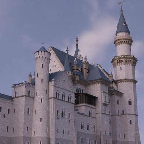 3d model neuschwanstein castle schloss | Maya 3D | Scoop.it