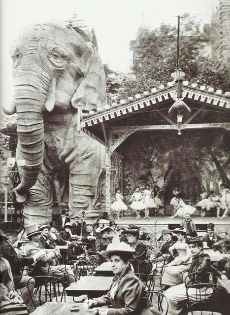 Gardens of the Moulin Rouge, Paris 1900 | Celebrating Fabulosity: Pinup to Burlesque! | Scoop.it
