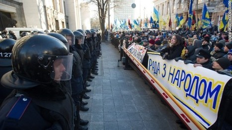 Pro-EU protesters in Kiev call for government's ouster - CNN | How student riots work. | Scoop.it