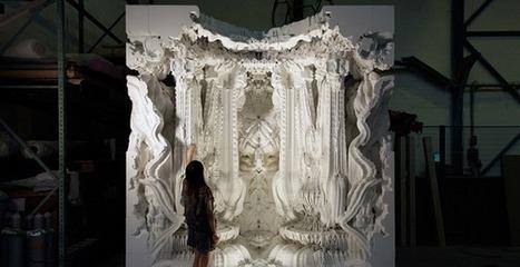 Digital Grotesque, une œuvre d'art géante imprimée en 3D [Vidéo] | Imprimante3D | Scoop.it