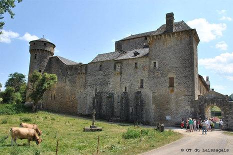 J'ai eu la chance de découvrir le château des «Bourines»   L'info tourisme en Aveyron   Scoop.it