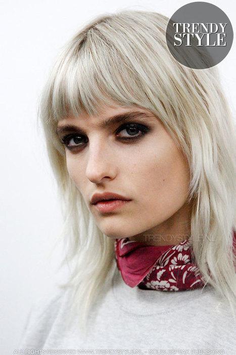 Halflange kapsels in laagjes geknipt - Haartrends lente zomer 2016 - Trendystyle, de trendy vrouwensite | kapsel trends | Scoop.it
