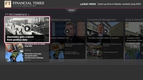 FT launches Samsung Smart TV App   comunicazione&giornalismo&marketing   Scoop.it