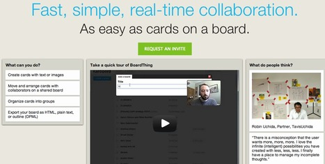 BoardThing - Organise with Cards | Innovative Teaching and Learning Ideas AAP | Scoop.it