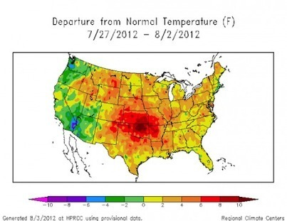 Hansen Study: Extreme Weather Tied to Climate Change | Climate Central | Nuevas Geografías | Scoop.it
