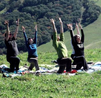 Rando yoga dans les Pyrénées - LaDépêche.fr | balades en pyrénées | Scoop.it