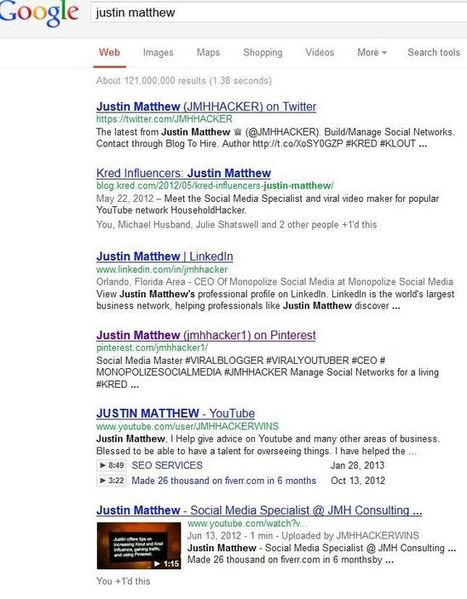 Cracking Social Media: Rank in Search Engine Results (JUSTIN MATTHEW) | Monopolize Social Media. | Scoop.it