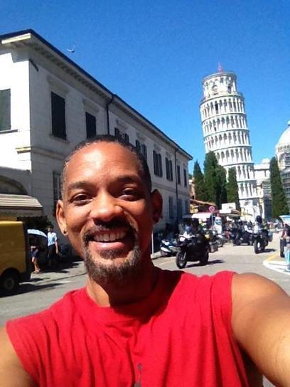 From Hollywood to Pisa: Will Smith's Selfie of Leaning Tower Goes Viral | Italia Mia | Scoop.it