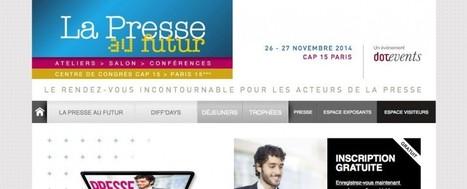 Venez rencontrer ELECTRIC NEWS au salon La Presse au Futur les 26 et 27 novembre ! | ELECTRIC NEWS | Digital Publishing for Electric Brain | ELECTRIC news | Scoop.it