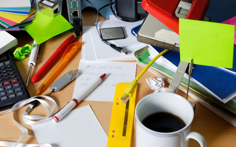 A Messy Desk Makes You More Creative, Study Says   Synergetic Management: Business Innovation & Improvement   Scoop.it