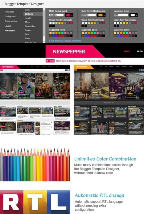 NewsPepper – Responsive Blogger Magazine (Blogger)  | ThemeForest | Blogger themes | Scoop.it