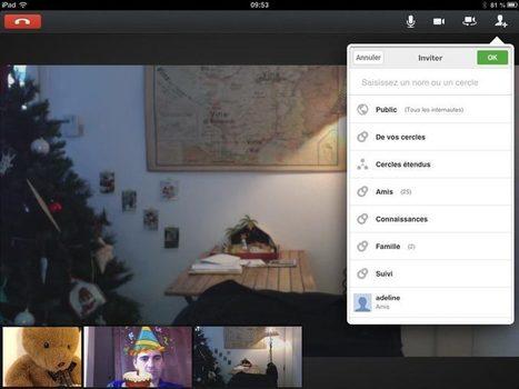 Google+ : comment ça marche le hangout ? | clefs à mon net | Scoop.it