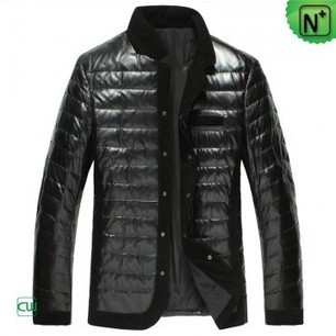 Down Filled Leather Jackets CW848332 | Men's | Scoop.it