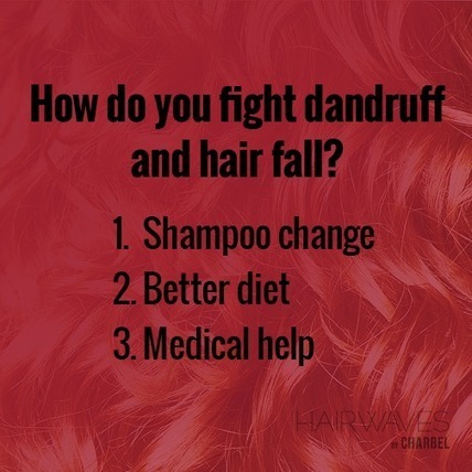 How do you fight dandruff and hair fall? | Latest And Trendiest Hairstyling Techniques | Scoop.it