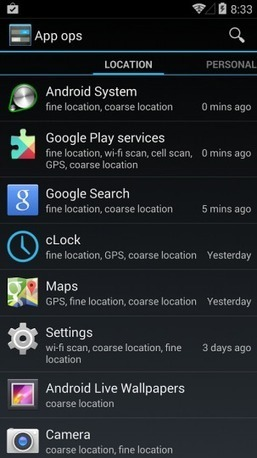 App Ops access manager once more accessible in Android 4.4 - Android Community   Digital   Scoop.it