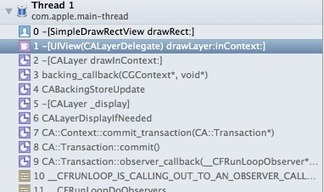 iphone - iOS: Using UIView's 'drawRect:' vs. it's layer's delagate 'drawLayer:inContext:' - Stack Overflow | Core Animation 1 | Scoop.it