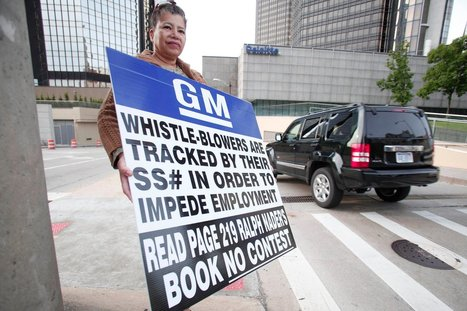 Whistleblower: GM Ruined My Career | News in english | Scoop.it