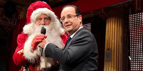 L'Elysée verrouille les photos de François Hollande avec le Père Noël | political consultant | Scoop.it