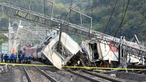 One killed, 8 injured as South Korea passenger train derails | Railway's derailments and accidents | Scoop.it