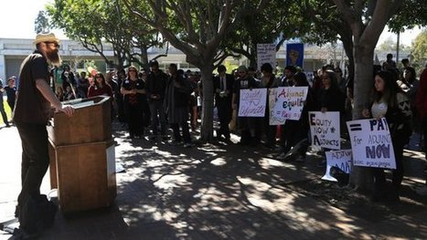 #Adjunct faculty protest conditions « @UTSanDiego #NAWD | A is for Adjunct | Scoop.it