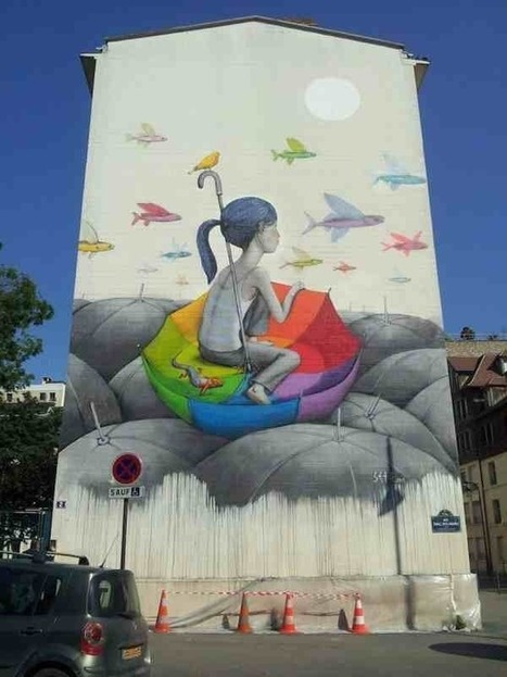 Global Street Art • Seth in Paris - the Globepainter is pretty awesome... | Inspiration | Scoop.it