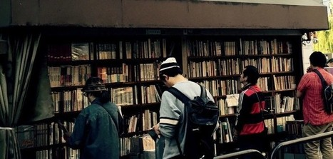 【讀者舉手】晴空下的書店,書與人之間最美的風景──東京神保町古書街的晴空‧書市   Library Watch 台灣與大陸即時新聞   Scoop.it