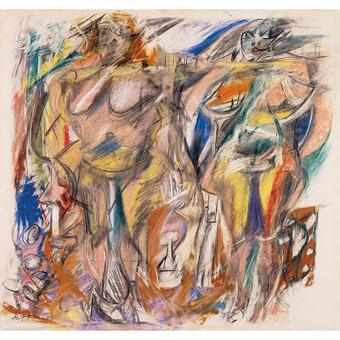 Τέχνης Σύμπαν και Φιλολογία: Βίλεμ ντε Κούνινγκ: Ο ζωγράφος των γυναικών, Willem de Kooning: The Painter of Women | Τέχνης Σύμπαν και Φιλολογία | Scoop.it