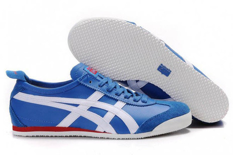 Mens Onitsuka Tiger Mexico 66 Blue White Shoes | popular list | Scoop.it