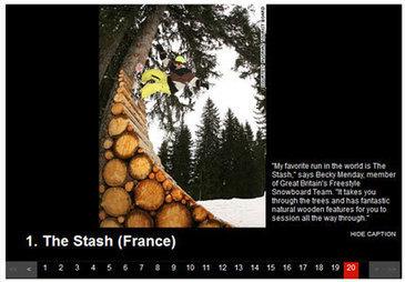 TOP 100 des meilleures descentes en ski du monde | Location de Ski en France | Scoop.it