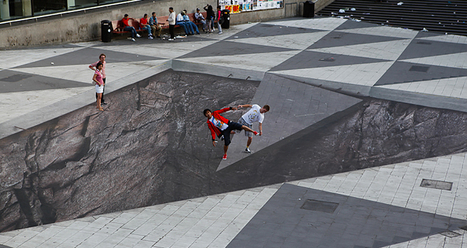 Wow Illusions! 21 Mind-Bending Urban Works of Art | Just Story It! Biz Storytelling | Scoop.it