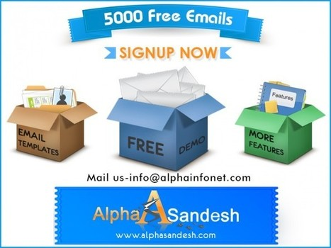 Email Marketing : An Economical, Easy and Effective Way to Build Any Business - Alpha Sandesh Blog | My SEO News | Scoop.it
