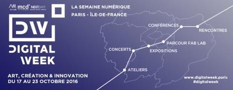 MCD - DIGITAL WEEK DU 17 AU 23 OCTOBRE 2016 À PARIS - Magazine MCD   Art contemporain, photo & multimédias   Scoop.it