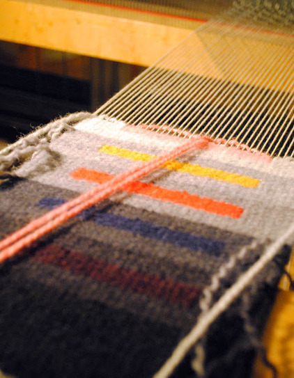 Rebecca Mezoff, Tapestry Artist: So Warped. Startitis for weavers. | Spinning, Weaving and Knitting | Scoop.it