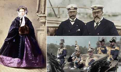 WW1 Royal family rift revealed in stunning portraits | British Genealogy | Scoop.it