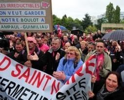 Landivisiau, 200 ex-Gad mettent la pression sur la cellule de ...   Entreprises du Finistère Nord   Scoop.it