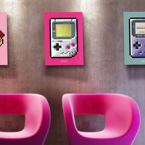 8-Bit Series Game Console Posters: As Seen From the Eyes of Grandpa NES   All Geeks   Scoop.it
