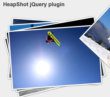 HeapShot image gallery for jQuery | Slideshow & Carousel Jquery | Scoop.it