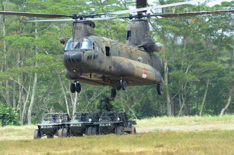 Singapore selects H225M and Chinook helicopters | Helicopters | Scoop.it