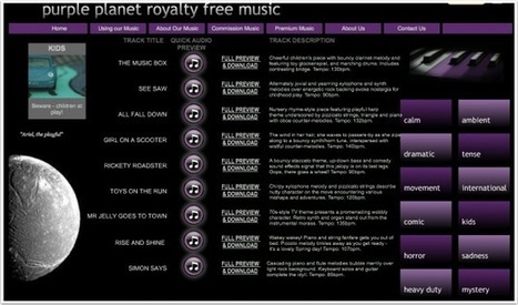 Rock Out Your Projects With Royalty-Free Music | Technology for school | Scoop.it