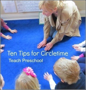 Ten tips for circletime in the preschool classroom | Happy Days Learning Center - Resources & Ideas for Pre-School Lesson Planning | Scoop.it