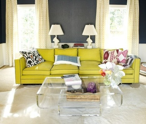 A Rainbow of Sofas That Speak Out | Home & Office Styling | Scoop.it