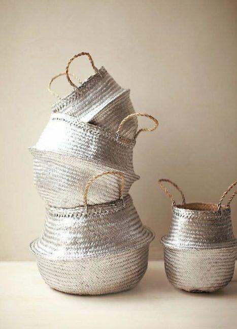 10 buenas ideas para decorar cestas de mimbre | Mil Ideas de Decoración | Decoración de interiores | Scoop.it