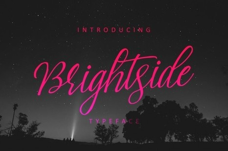 Free Download Brightside Typeface Font ($15 value) | Software Giveaway and Deals | Scoop.it