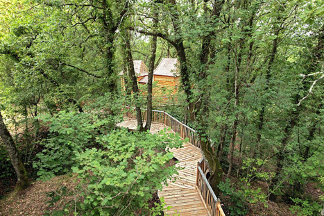 Château Hautefort Treehouse | The Blog's Revue by OlivierSC | Scoop.it